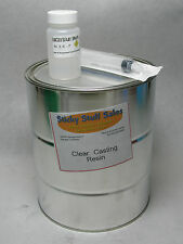 Professional Clear Casting resin w/MEKP *perfect for encapsulating items* 1Gal