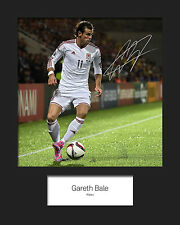 GARETH BALE #6 10x8 SIGNED Mounted Photo Print - FREE DELIVERY