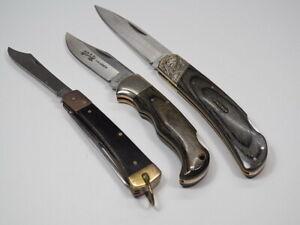 3 Stück MAGNUM + JUL. HERBERTZ 203310 Messer Gabel Klappmesser Taschenmesser