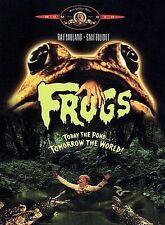 Frogs (DVD, 2000) Nature strikes back Horror, Halloween, (Squirm, Slugs, Ticks)