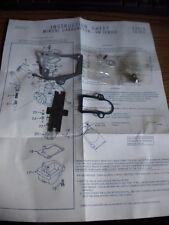 NOS 1976 Yamaha LB80 Chappy 80 LB Mikuni VM Carburetor Carb Repair Kit
