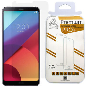 New Genuine Gorilla Tech Tempered Glass Screen Protector Shield Guard for LG G6