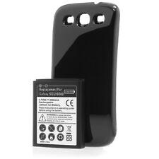 Samsung S3 SIII Galaxy I9300 Akkudeckel Inkl. Power Akku mit 4300mah schwarz
