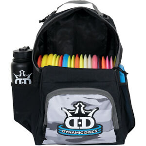 NEW - Dynamic Discs Backpack Disc Golf Bag - Holds 17+ Discs - White Camo