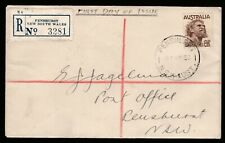 1950 KING GEORGE VI 8 1/2d PRE-DECIMAL STAMP UNOFFICIAL FIRST DAY COVER #50.12