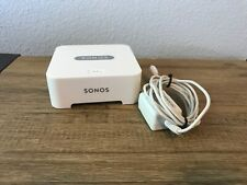 White Sonos Bridge for Sonos Wireless Network