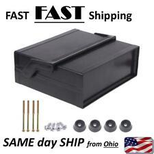 NEW Plastic Electronic Enclosure Project Box Black 200x175x70mm w/ handle