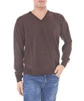 Romeo Gigli Herren V-Neck Pullover braun Gr. L  NEU + Rechnung mit MwSt.