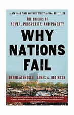 Why Nations Fail: The Origins of Power Prosperity and Poverty Free Shipping