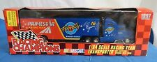 Racing Champions Transporter, Ted Musgrave #16, 1997 1/64 Scale, NOS