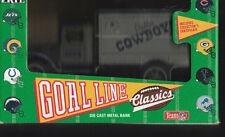 DALLAS COWBOYS DIE CAST METAL COIN BANK NFL TRUCK NEW IN BOX 1993 ERTL