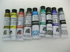 9--WATER COLOR TUBES TINTORETTO 7.5ML MADE BY FERRARIO (ITALY)