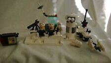 Custom Lego Star Wars Hoth Battle Snow Trooper/Speeder Bike Rebels Empire