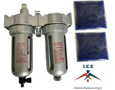 """1/2"""" Compressed air in line filter & desiccant air dryer combination FLM12"""