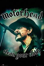 MOTORHEAD Clean Your Clock 61 x 91.5cm Poster NEW AND SEALED