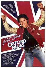 OXFORD BLUES Movie POSTER 27x40 Rob Lowe Ally Sheedy Amanda Pays Julian Sands