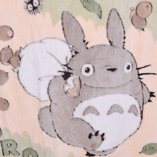 Japan Anime Totoro Soft Blanket Coral Fleece Plush Quilt Warm Cute Sofa Blanket