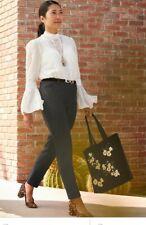 0107fdbef3e White House Black Market lace Long Bell Sleeve Celine Victorian blouse 0 2  4 6 8