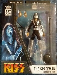 BST AXN KISS THE SPACEMAN Destroyer Tour Action Figure New
