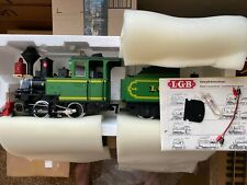 LGB 2017D G Scale 0-4-0  Steam Locomotive with Tender and Original Box.