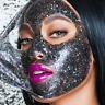 FACE COMPLEX BLACK HEAD GLITTER MASK MASCHERA VISO GLAM GLOW PUNTI NERI