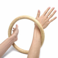 265mm Chinese Kung Fu Hoop Wood Rattan Ring Wing Chun Training Hand Strength NEW