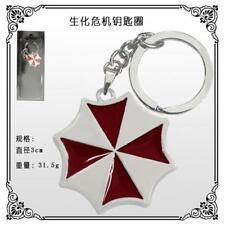 Japan Anime Resident Evil Metal Keychain Key Ring Pendant