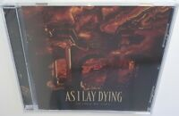 AS I LAY DYING SHAPED BY FIRE (2019) BRAND NEW SEALED CD