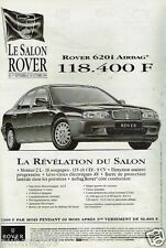 Publicité advertising 1994 Salon Rover 620i Airbag