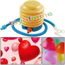 Swimming Ring Balloon Air Pillow Inflatable Toy Yoga Ball Foot Air Pump Inflator
