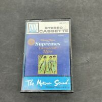 Vintage Diana Ross and the Supremes Greatest Hits Audio Cassette Tape