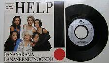 BANANARAMA  (SP 45T) HELP (COVER BEATLES)