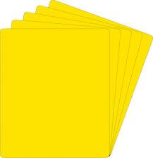 "(150) 12NS14YE40 12"" Yellow Record Divider Bin Cards Full Cut Standard 40 Mil"