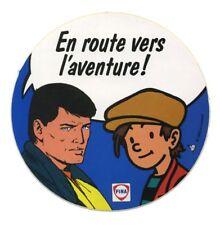Autocollant Michel Vaillant Bob Morane et Nino Fina