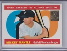 MICKEY MANTLE 1997 Topps Mantle (1960 All-Star) #29 (C6528)