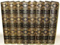 LEATHER Set;HISTORY UNITED STATES of AMERICA!Art Edition 1/500 MASSIVE RARE GIFT