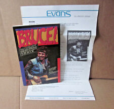 BRUCE SPRINGSTEEN rare E Street Band 1985 official press-release Quiz Book