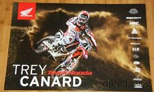 2015 Trey Canard Team Honda CRF450R AMA Supercross Motocross poster