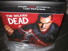 New The Walking Dead NEGAN Limited Edition Resin Statue McFarlane SEALED SIGNED