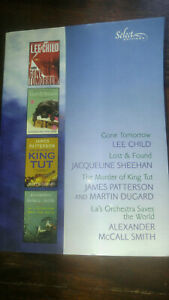 READER'S DIGEST Select Gone Tomorrow-Lost & Found-Murder King Tut-La's Orchestra
