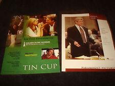 TIN CUP & PRIMAL FEAR Oscar ad Kevin Costner, Richard Gere & TWISTER Helen Hunt