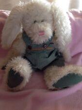 "Collectible Boyd's Bears Plush 18"" HARE Roscoe Bumpercrop w/Carrot HTF"