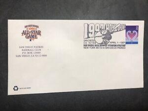 #3123 Sports Baseball M247 San Diego Padres Home Opener 1997 MLB NY Mets