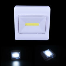 COB Magnetic LED Light Wall Night Lights Campo lampada a pile con interruttore#C