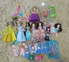 Mixed Lot of 29 Small Girl Dolls, Cupcake, Barbie, Bratz and more!