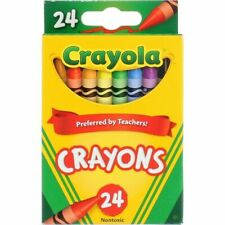 4- Packs of 24ct. Crayola Crayons New preferred by teachers �