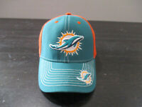 Miami Dolphins Hat Cap Green Orange NFL Football Strap Back Adjustable Mens A10