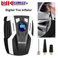 150PSI Digital LCD Tyre Inflator Portable Air Pump For Car Motorcycle Caravan UK