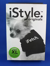 dog shirt coat light weight iFetch t shirt for dogs 16- 27kgs Istyle brand black