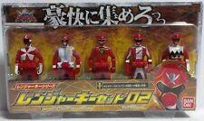 Power Ranger Kaizoku Sentai Gokaiger DX Ranger Key Series Set 02 Bandai